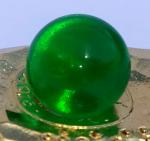 Glasperle klein - GRÜN